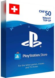 PSN 50 CHF (CH) - PlayStation Network Gift Card