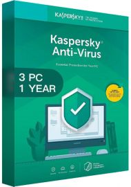Kaspersky Antivirus 2020 - 3 PCs -  1 Year