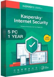 Kaspersky Internet Security Multi Device 2020 - 5 Devices - 1 Year
