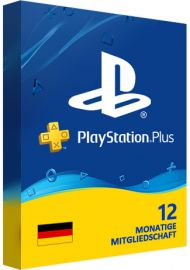 Playstation Plus PSN Cards - 365 Days DE