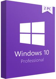 Windows 10 Pro Professional - 2 PCs