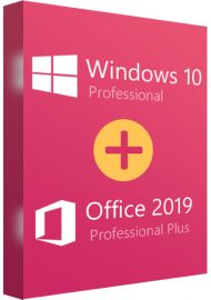 Windows 10 Professional + Office 2019 Pro Plus Bundle