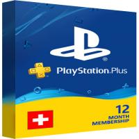 Playstation Plus PSN Cards - 365 Days CH